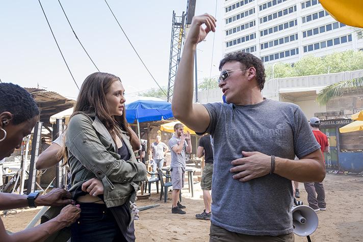 Learn more about what Elizabeth Olsen thinks of Captain America: Civil War stuntwork. - SahmReviews.com #CaptainAmericaEvent