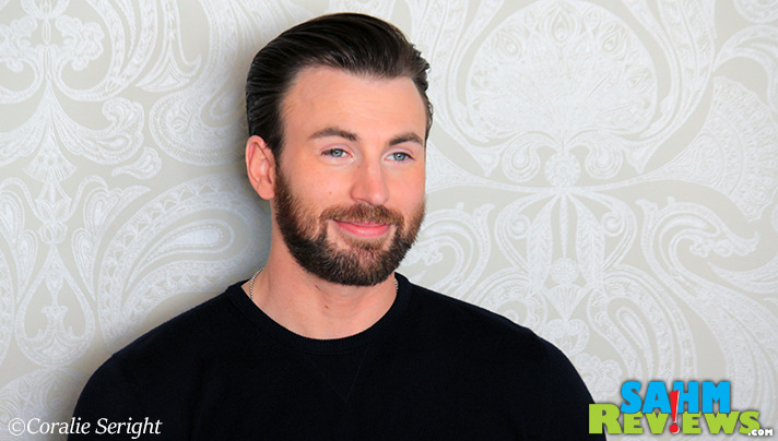 Chris Evans possesses many of the same characteristics as Steve Rogers. - SahmReviews.com #CaptainAmericaEvent