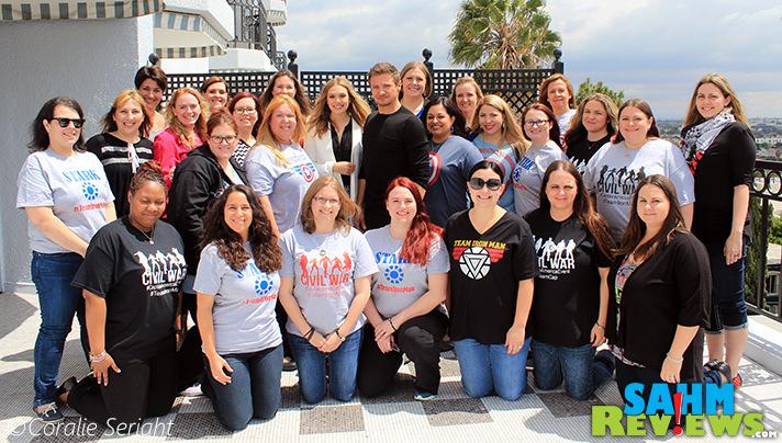 Jeremy Renner and Elizabeth Olsen provide exclusive interview for 25 bloggers. - SahmReviews.com #CaptainAmericaEvent