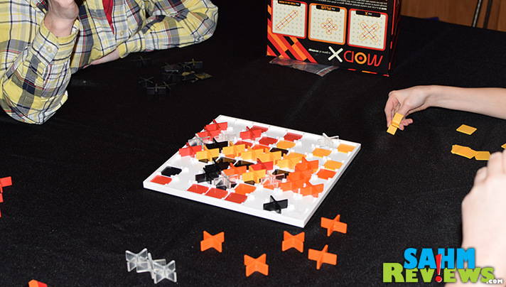 While we are fans of almost any abstract game, it still takes a lot to get us excited. Mod X by Cryptozoic Entertainment has us REALLY excited! - SahmReviews.com