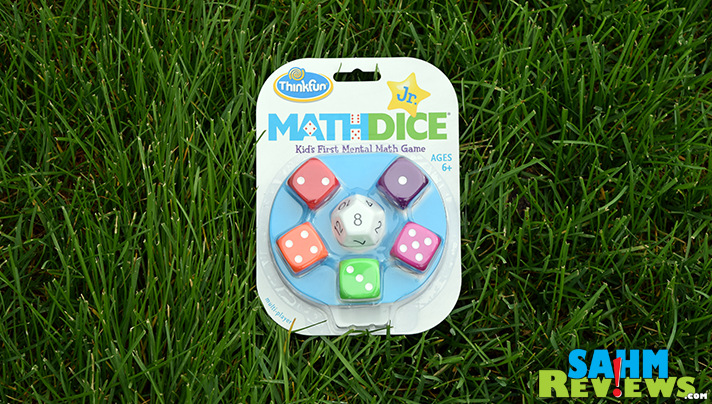 There's finally a way to make learning those basic math skills fun! Math Dice by ThinkFun is the perfect classroom game for all ages! - SahmReviews.com