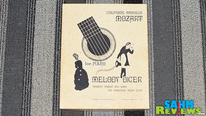 We found a 70's-era game designed to help you compose music! Melody Dicer is a recreation of a game that's been around since the late 1700's! - SahmReviews.com