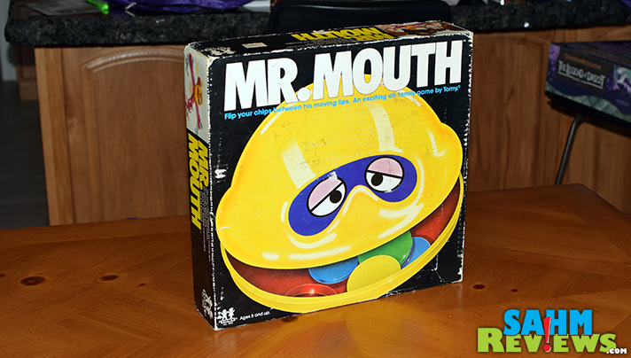 The 1970's brought us a number of mechanical games. Mr. Mouth by TOMY was one that remained successful well into the 80's! - SahmReviews.com