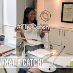 Rose Rolins at her desk on set of #TheCatch. - SahmReviews.com #TGIT #ABCTVEvent