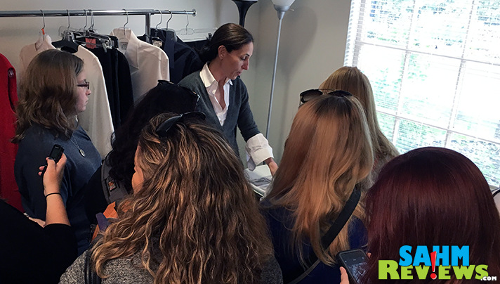 We went behind-the-scenes with Costume Designer Peggy Schnitzer of #TheCatch. - SahmReviews.com #TGIT #ABCTVEvent