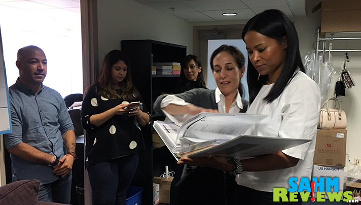 Costume Designer Peggy Schnitzer shared behind-the scenes wardrobe facts that Rose Rollins didn't even know! - SahmReviews.com #TGIT #TheCatch #ABCTVEvent