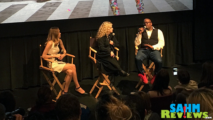 Following a screening of Season 2 of Netflix Original, Unbreakable Kimmy Schmidt, we participated in a Q&A session with Tituss Burgess and Carol Kane. - SahmReviews.com #StreamTeam #Netflix