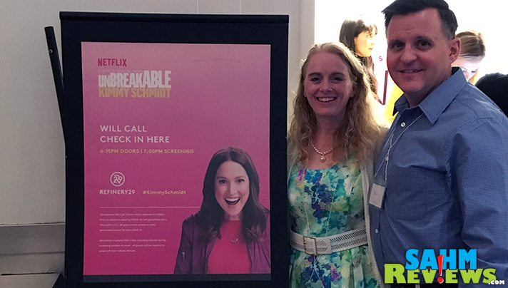 We joined Netflix and other Stream Team members in New York to screen Season 2 of Unbreakable Kimmy Schmidt. - SahmReviews.com