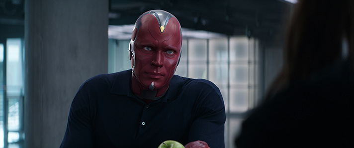 Paul Bettany said his daughter's reaction to Vision was unexpected. - SahmReviews.com #CaptainAmericaEvent