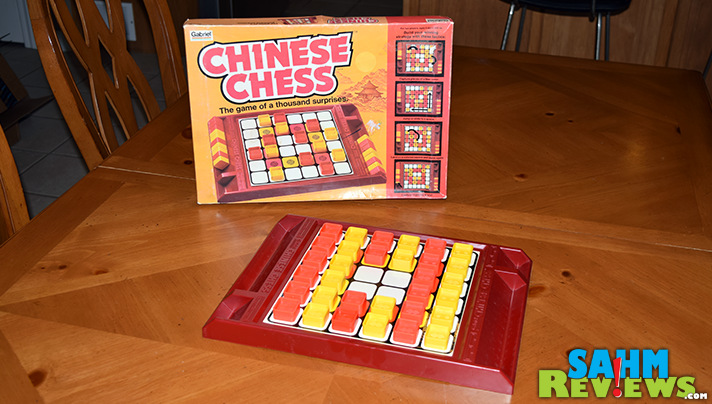 This version of Chinese Chess has a unique mechanic we hadn't seen in any other abstract games. You can move either color piece! - SahmReviews.com