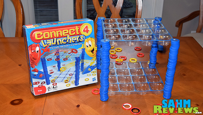 Connect 4 Launchers is one of those games where a picture is worth 1000 words. And a video is 10x that! See our live demonstration! - SahmReviews.com