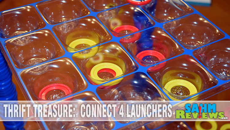 Thrift Treasure: Connect 4 Launchers