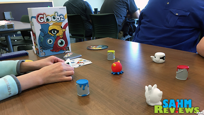 Fortunately the object of Gloobz by Gigamic is to collect as many as you can. They're so cute you'll want to grab them all! - SahmReviews.com