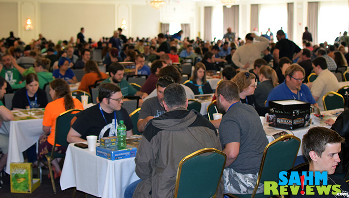 Geekway to the West offers 4 days dedicated to gaming. - SahmReviews.com