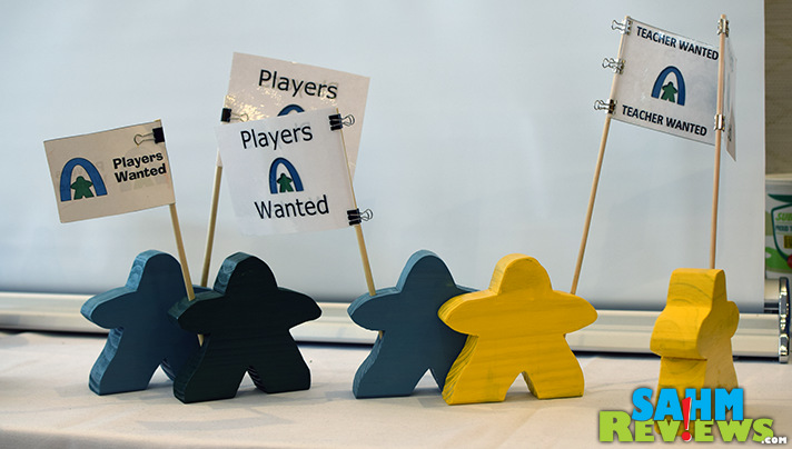 Want someone to join you for a game? Let the Meeple advertise for you! - SahmReviews.com