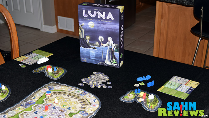 Take our favorite game designer and mix it with one of our favorite publishers and you get a must have - Luna by Tasty Minstrel Games! - SahmReviews.com