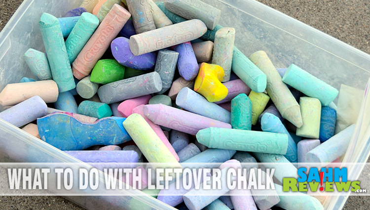 What To Do With Leftover Sidewalk Chalk