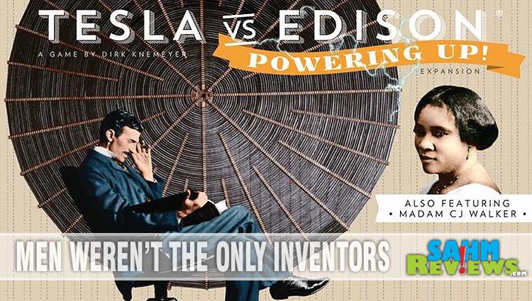 Tesla vs Edison Board Game Overview
