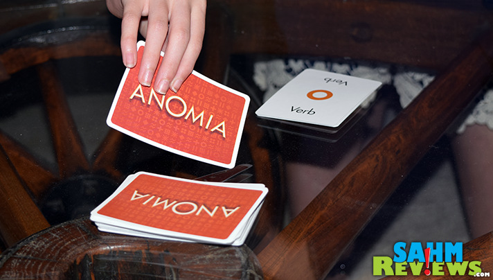 We first found Anomia by Everest Toys at our local game night gathering. Finding a copy for ourselves at Goodwill was just a bonus! - SahmReviews.com