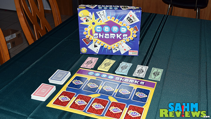 Relive those 80's-era game shows with this week's Thrift Treasure, Card Sharks. Play as the MC and pretend you're Bob Eubanks! - SahmReviews.com