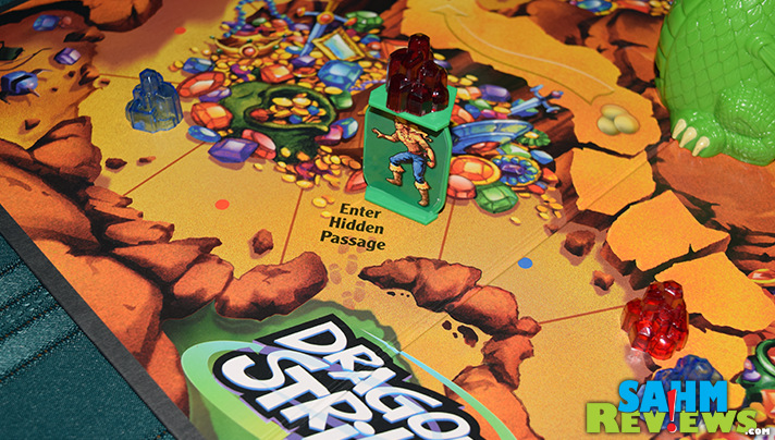 Although we normally pass on battery-operated board games, Dragon Strike by Milton Bradley had such a cute dragon, we couldn't resist! - SahmReviews.com