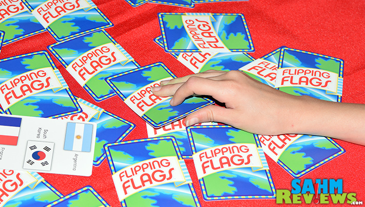 We wish we had beefed up our flag knowledge before trivia night. Flipping Flags by R&R Games sure would have done the trick! - SahmReviews.com