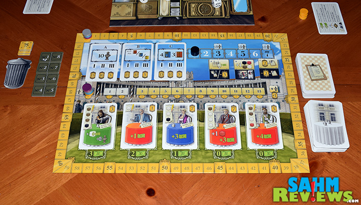 We know a certain hotel that could learn a few things from this game. Grand Austria Hotel by Mayfair Games does it up just right! - SahmReviews.com