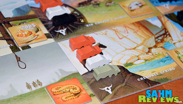 You know them for Spot-It. Now Blue Orange Games is hitting the strategy trail with their latest game, Longhorn! Read more to see if it is your next steal! - SahmReviews.com