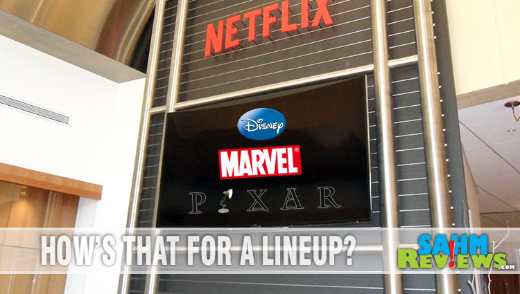 Only on Netflix : Disney, Marvel, Pixar