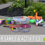 When the weather is nice, use this list of outdoor games and activities to get your kids to play outside. - SahmReviews.com