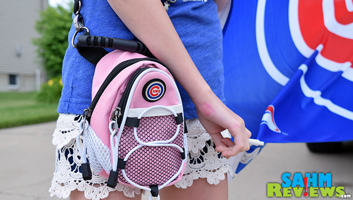 These cute mini backpacks are perfect for carrying a phone into Wrigley Field. - SahmReviews.com