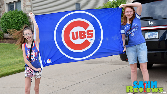 Show your team spirit and bring a flag or banner to Wrigley Field with you. - SahmReviews.com