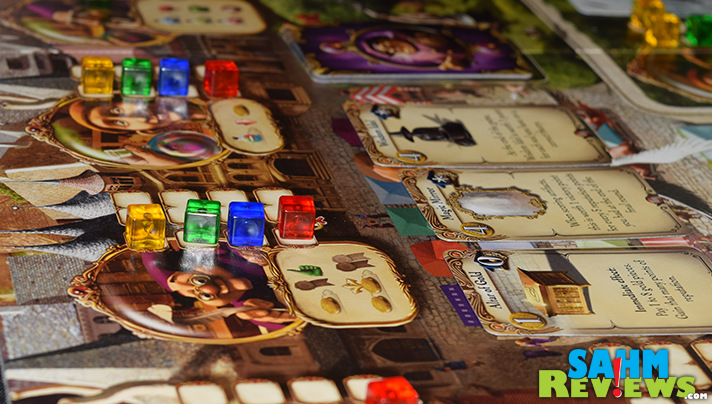 In Alchemists Game by Czech Games Edition, you have to balance your actions to get supplies, test and prove theories. - SahmReviews.com