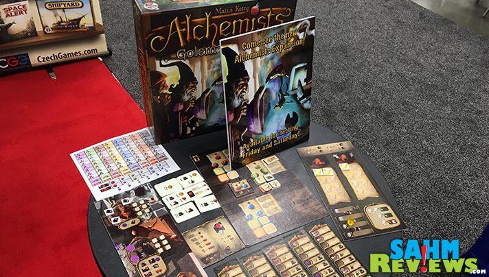 An expansion to CGE's Alchemists game is coming soon! - SahmReviews.com