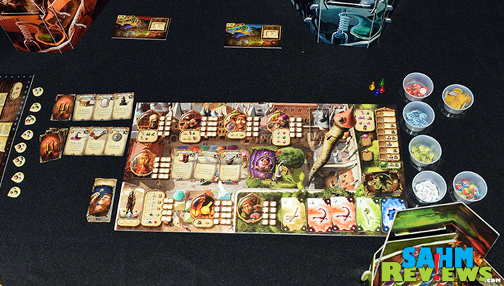 Alchemists game by Czech Games Edition is a logic-based game combined with resource management. - SahmReviews.com