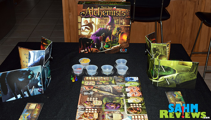 Love logic puzzles? Check out Alchemists game by CGE. - SahmReviews.com