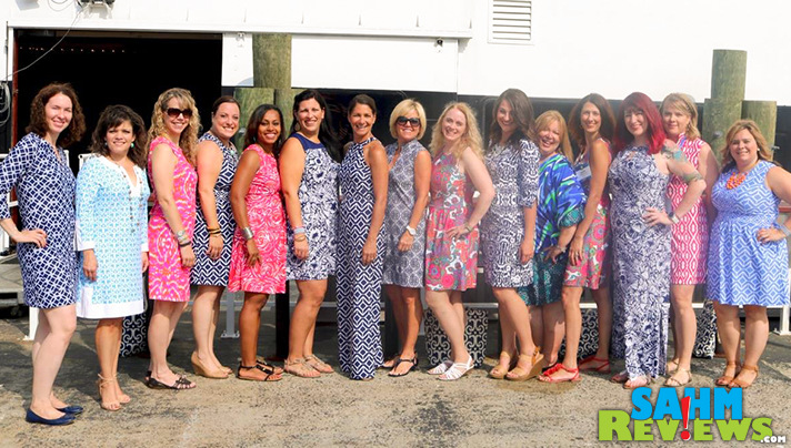 Blogger Bash ambassadors were beautifully outfitted by Jude Connally. - SahmReviews.com #JudeConnally #BloggerBash