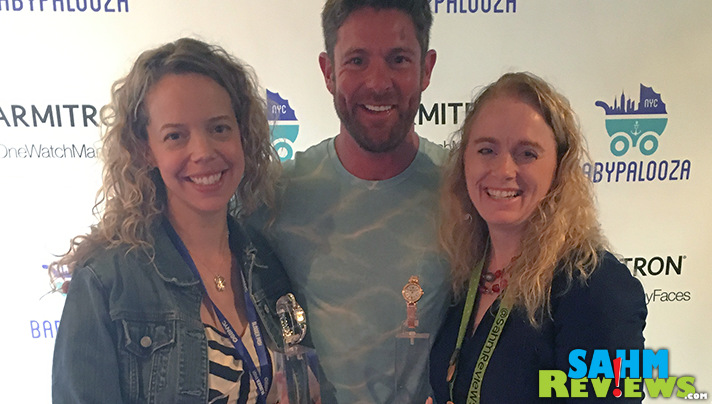 Veteran Noah Galloway was in the Armitron Watches booth at Babypalooza during Blogger Bash 2016. - SahmReviews.com #BBNYC #Babypalooza #onewatchmanyfaces