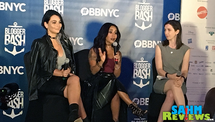 "Nicole ""Snooki"" Polizzi and Jenni ""JWoww"" Farley were keynote speakers at Blogger Bash 2016. - SahmReviews.com"