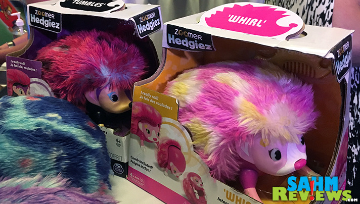 Spin Master showcased a variety of new products including Zoomer Hedgiez at Sweet Suite during Blogger Bash 2016. - SahmReviews.com #BBNYC #SweetSuite16