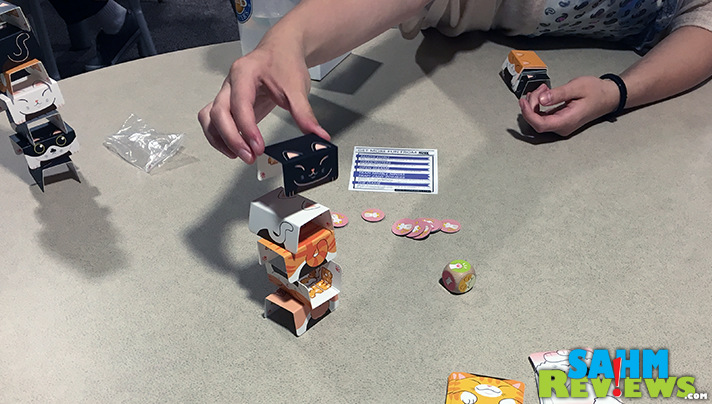 Feel like stacking cats? Try Cat Tower by IDW Games. - SahmReviews.com