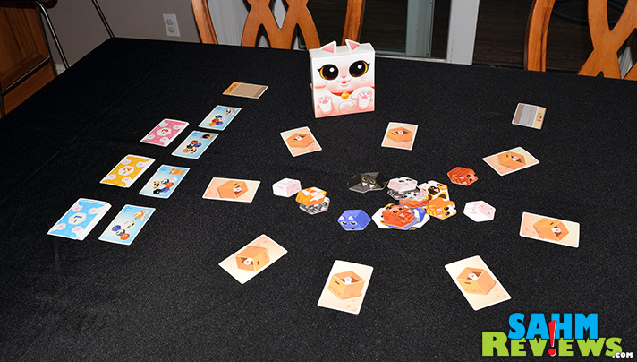 Kitty Paw from Renegade Games has you rushing to collect and organize cats. (Organize cats? Ha!) - SahmReviews.com
