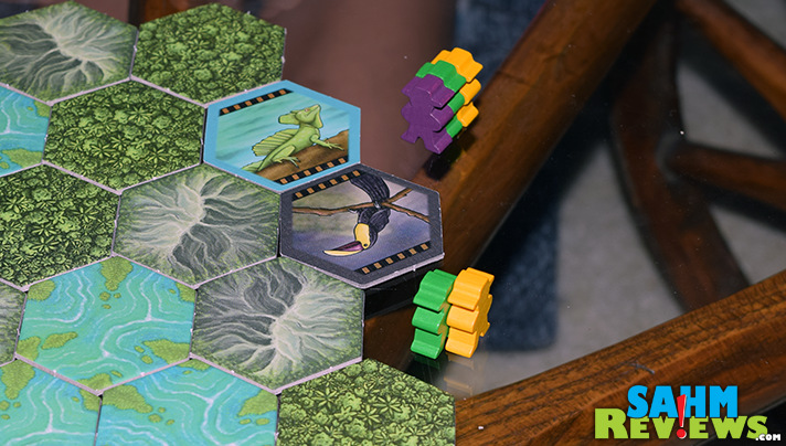 We took a trip to Costa Rica to collect animals thanks to Mayfair Games' latest title. This one is sure to be a hit and in short supply at Gen Con! - SahmReviews.com