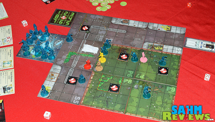 The release of the new Ghostbusters movie had us reminiscing about the original film. We decided to relive the 80's with this new game from Cryptozoic! - SahmReviews.com
