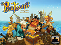 Piratoons Stronghold Games - Box