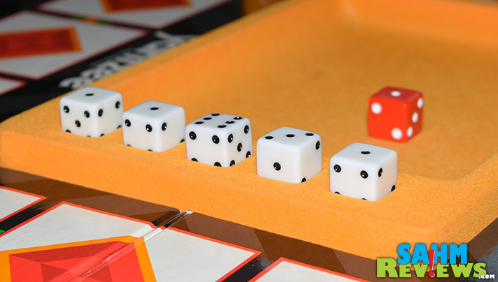 I've always been a big fan of Yahtzee, having grown up with a couple versions in the house. Showdown Yahtzee was one we found at thrift I had never seen! - SahmReviews.com