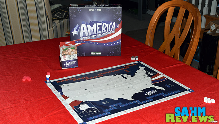 There's a new type of trivia game where you don't actually have to know the right answer to win! Check out Terra and America by Bezier Games! - SahmReviews.com