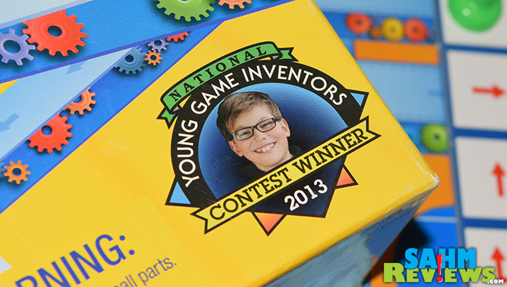 Adults aren't the only successful game designers. Conveyor Belt by University Games is one in a series of award-winning kid-designed games! - SahmReviews.com