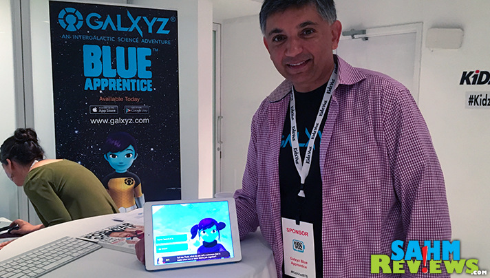 Osman Rashid recognized a lack of educational science opportunities and developed Galxyz Blue Apprentice. - SahmReviews.com