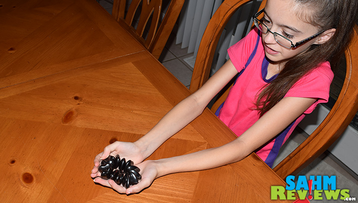 Kennedy's found a new almost-favorite in Hearts of Attraction by R&R Games. See her video on how to play this brand new dexterity game! - SahmReviews.com